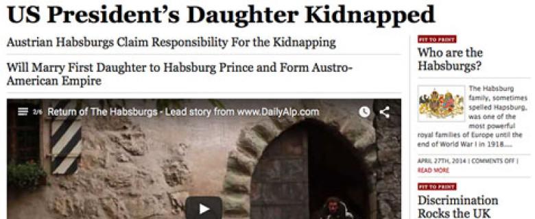 Return of the Habsburgs
